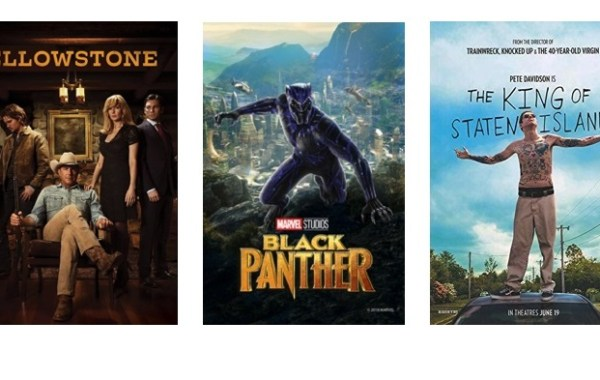 DEG Watched At Home Top 20 List For 09/03/20: Black Panther, Yellowstone 14