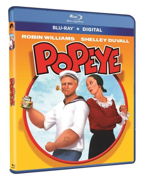 popeye movie blu ray