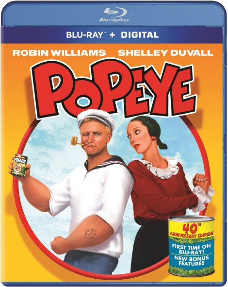 'Popeye' 40th Anniversary Edition; Arrives On Blu-ray For The First Time December 1, 2020 From Paramount 2