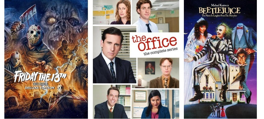 DEG Watched At Home Top 20 List For 10/22/20: Friday The 13th Collection, The Office, Friends 1