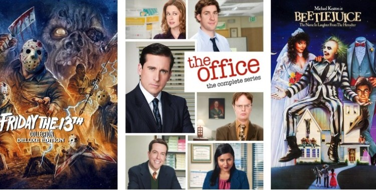 DEG Watched At Home Top 20 List For 10/22/20: Friday The 13th Collection, The Office, Friends 4