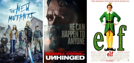 DEG Watched At Home Top 20 List For 11/30/20: The New Mutants, Unhinged 1