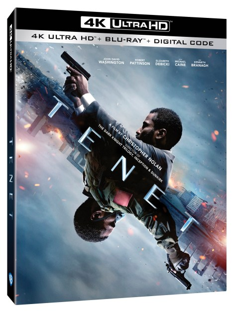 'Tenet'; The New Film From Christopher Nolan Arrives On 4K Ultra HD, Blu-ray, DVD & Digital December 15, 2020 From Warner Bros 2