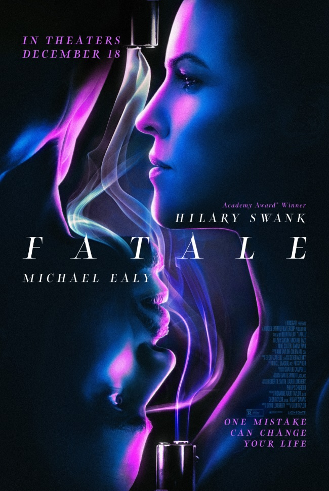 'Fatale'; The Official Trailer & Poster For The Hilary Swank & Michael Ealy Led Thriller Are Here 2