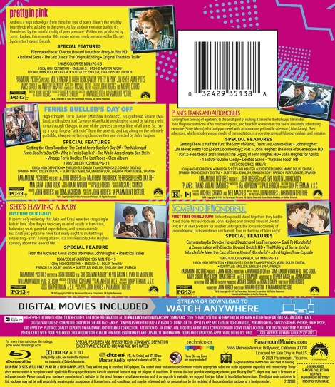 'John Hughes 5-Movie Collection'; Arrives On Blu-ray February 23, 2021 From Paramount 2