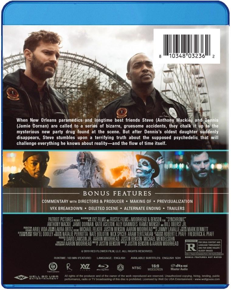 Justin Benson & Aaron Moorhead's 'Synchronic'; Arrives On Digital January 12 & On Blu-ray & DVD January 26, 2021 From Well GO USA 6