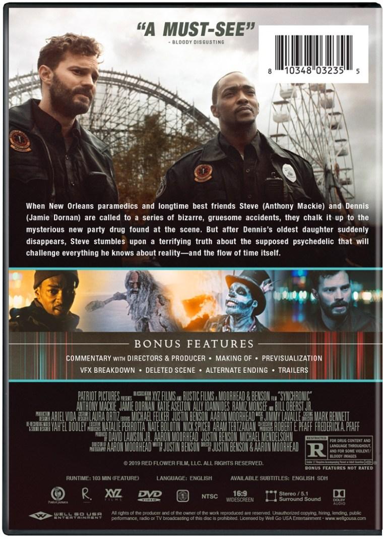 Justin Benson & Aaron Moorhead's 'Synchronic'; Arrives On Digital January 12 & On Blu-ray & DVD January 26, 2021 From Well GO USA 8