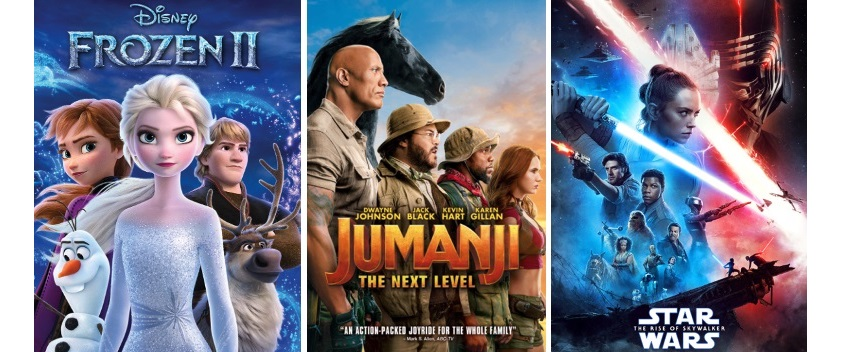 DEG Watched At Home Top 20 List For The Year Of 2020: Frozen II, Jumanji: The Next Level, Star Wars: The Rise Of Skywalker 19