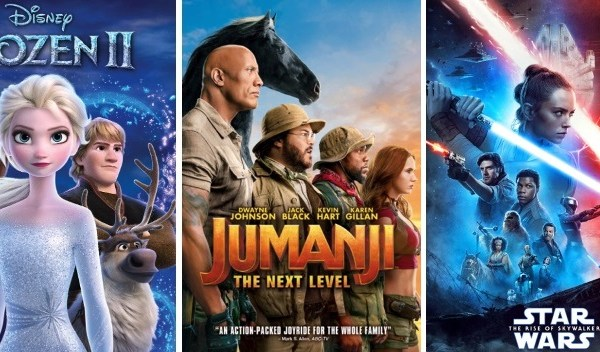 DEG Watched At Home Top 20 List For The Year Of 2020: Frozen II, Jumanji: The Next Level, Star Wars: The Rise Of Skywalker 1