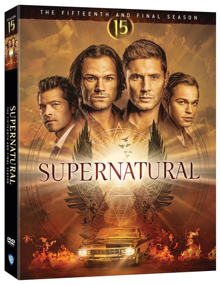 'Supernatural: The Complete Fifteenth & Final Season' & 'Supernatural: The Complete Series' Arrive On Blu-ray & DVD May 25, 2021 From Warner Bros 10