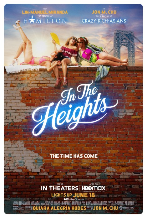 'In The Heights'; Check Out 2 New Trailers & 6 Posters For The Musical Event Film 4