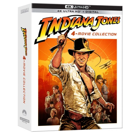 Indiana Jones 4-Movie Collection; Arrives On 4K Ultra HD June 8, 2021 From Paramount 3