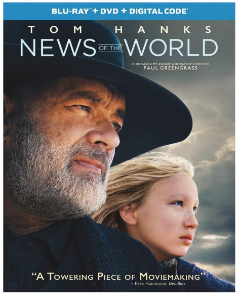 News of The World; Arrives On 4K Ultra HD, Blu-ray & DVD March 23, 2021 From Universal 4