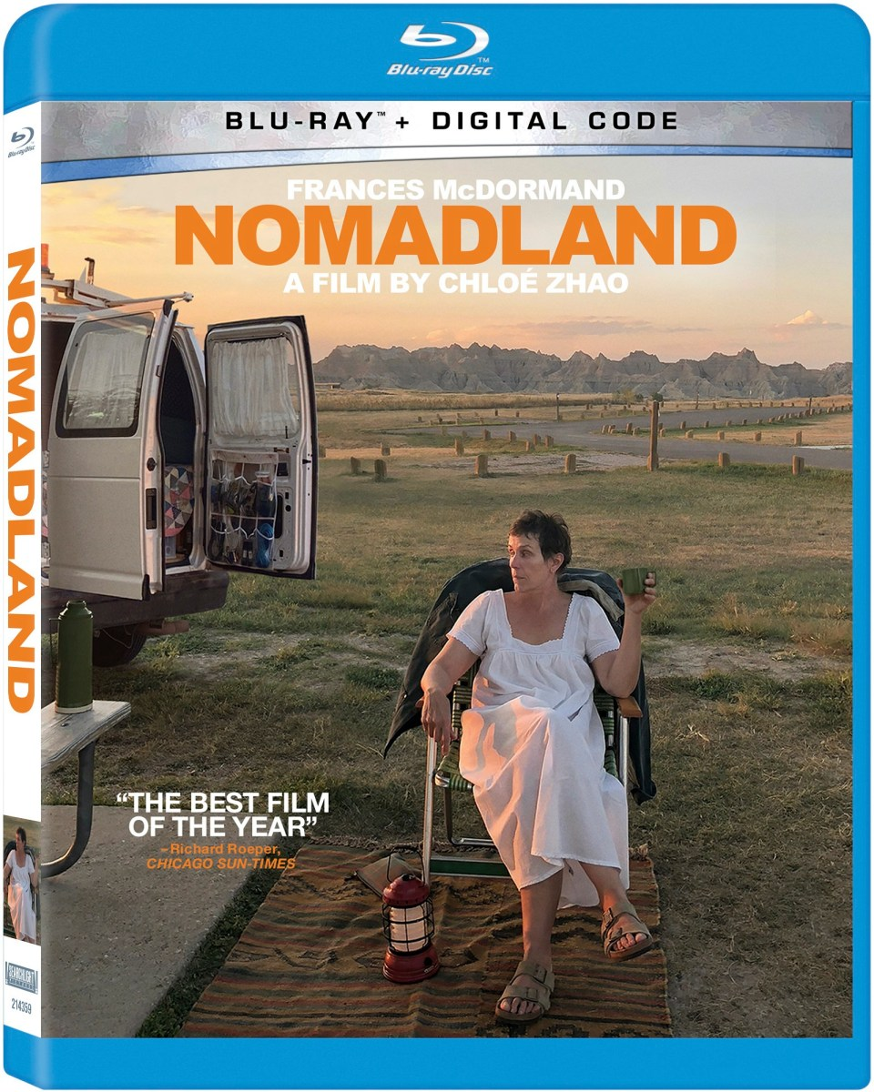 nomadland blu ray