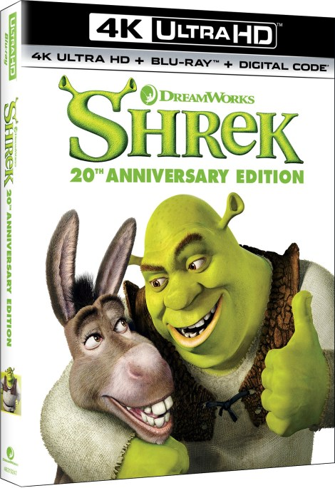 Shrek: 20th Anniversary Edition; Debuts On 4K Ultra HD & On Blu-ray & DVD May 11, 2021 From DreamWorks - Universal 12