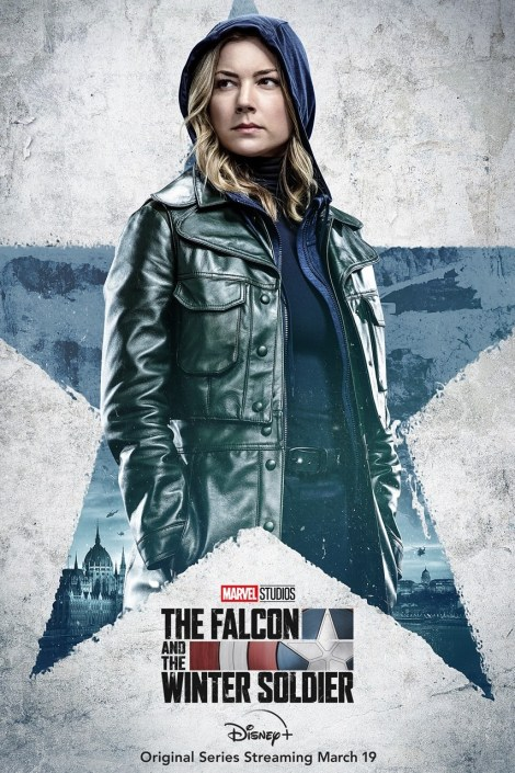 'The Falcon And The Winter Soldier'; 4 Character Posters Revealed For Marvel's Disney Plus Series 3