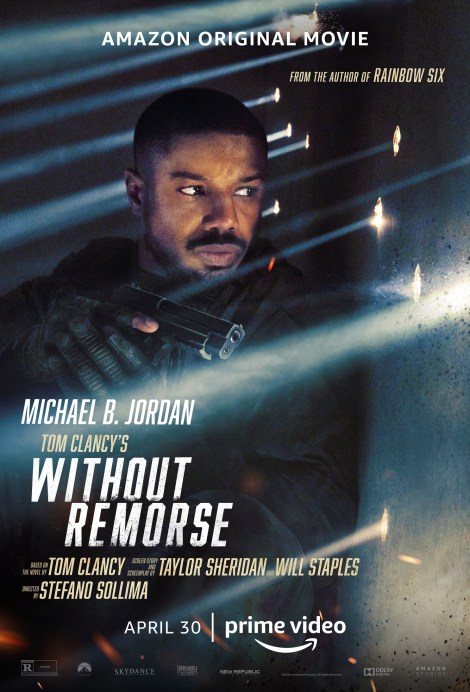 Michael B. Jordan Is Out For Blood In The First Trailer For 'Tom Clancy's Without Remorse' 1