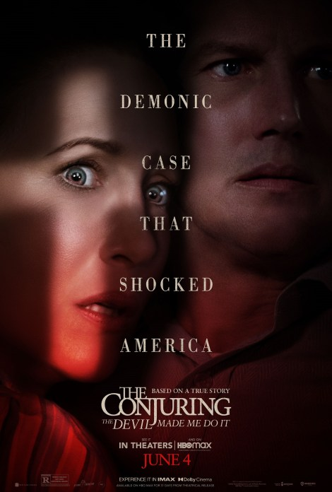 'The Conjuring: The Devil Made Me Do It'; The Warrens Return In The First Trailer & Poster For The New Sequel 1