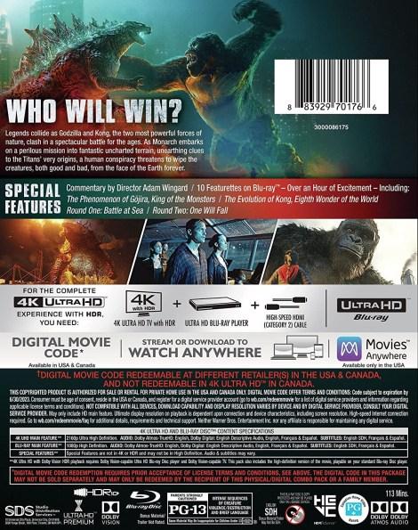 'Godzilla vs. Kong'; Own It On Digital May 21 & On 4K Ultra HD, Blu-ray & DVD June 15, 2021 From Warner Bros 8
