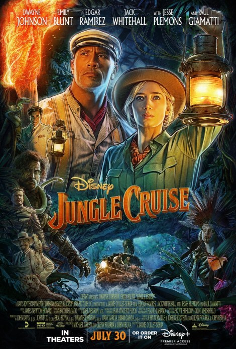 'Jungle Cruise'; The Ride Comes To Life In The New Trailer & Poster For The Disney Film 2