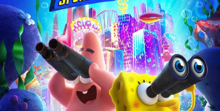 spongebob movie sponge on the run blu ray