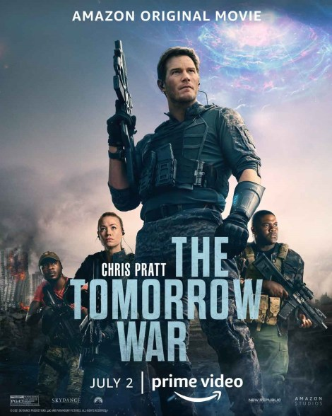 'The Tomorrow War'; The First Trailer For The Sci-Fi Action Film Sends Chris Pratt To War In The Future 2