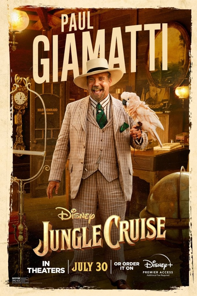 'Jungle Cruise'; Check Out 2 New Trailers & 7 Character Posters For The Disney Film 13