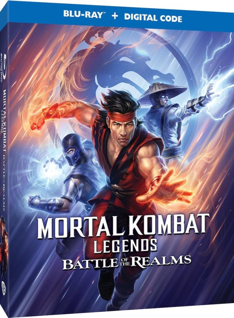 'Mortal Kombat Legends: Battle Of The Realms'; Arrives On 4K Ultra HD, Blu-ray & Digital August 31, 2021 From Warner Bros 3