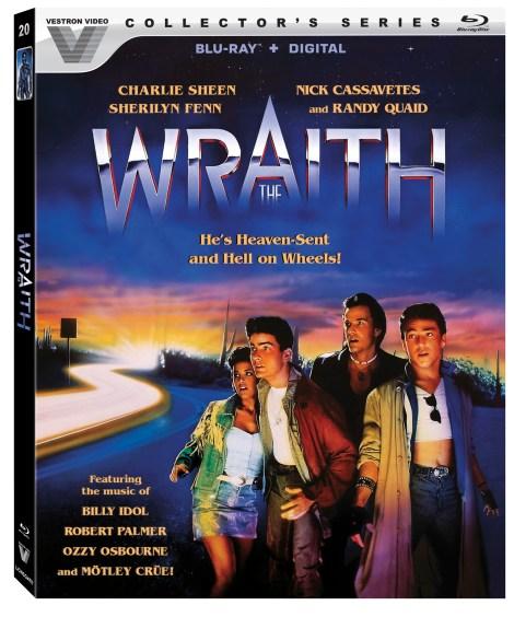 the wraith vestron blu ray