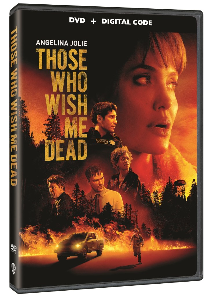 'Those Who Wish Me Dead'; Arrives On Digital July 2 & On Blu-ray & DVD August 3, 2021 From Warner Bros 4