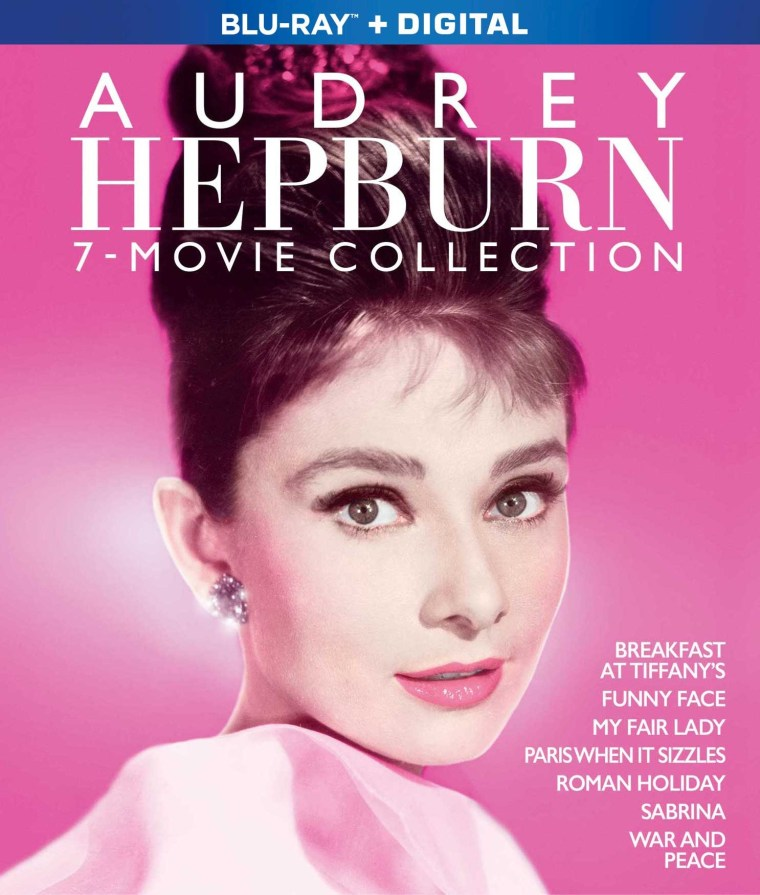 'Audrey Hepburn 7-Movie Collection'; Arrives On Blu-ray October 5, 2021 From Paramount 2