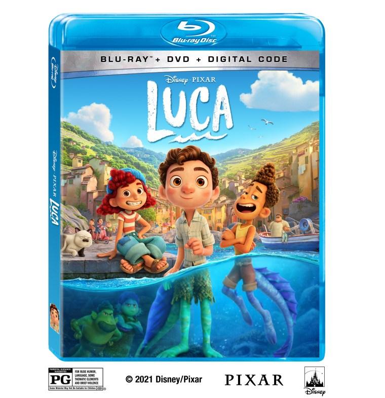 Disney - Pixar's 'Luca'; Arrives On 4K Ultra HD, Blu-ray, DVD & Digital August 3, 2021 From Disney 2