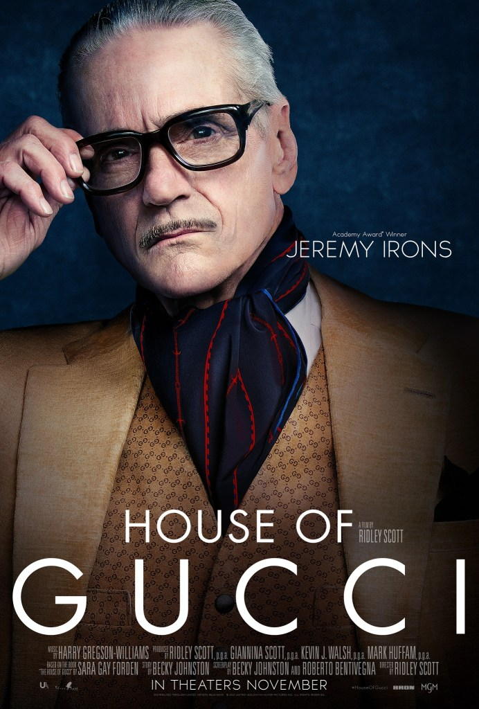 'House Of Gucci'; The First Trailer & 5 Character Posters For Ridley Scott's Star Studded Film Have Arrived 9