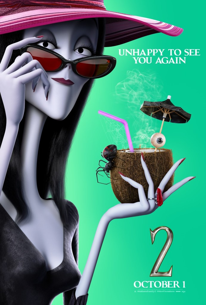 'The Addams Family 2'; 9 Character Posters For The Animated Sequel Show Off The Family On Vacation 11