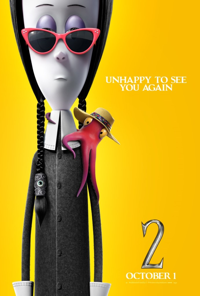 'The Addams Family 2'; 9 Character Posters For The Animated Sequel Show Off The Family On Vacation 16