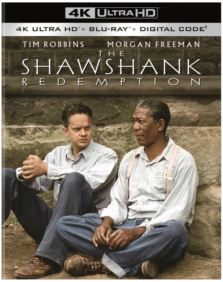 shawshank redemption 4k uhd