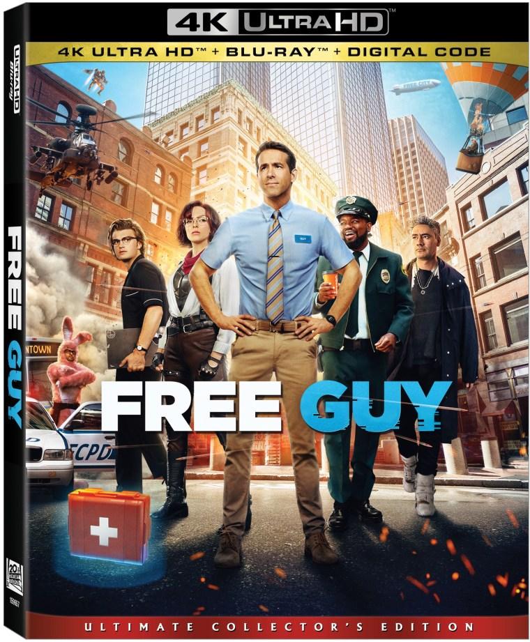 'Free Guy'; Arrives On Digital September 28 & On 4K Ultra HD, Blu-ray & DVD October 12, 2021 From 20th Century Studios 4