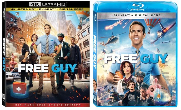 free guy blu ray