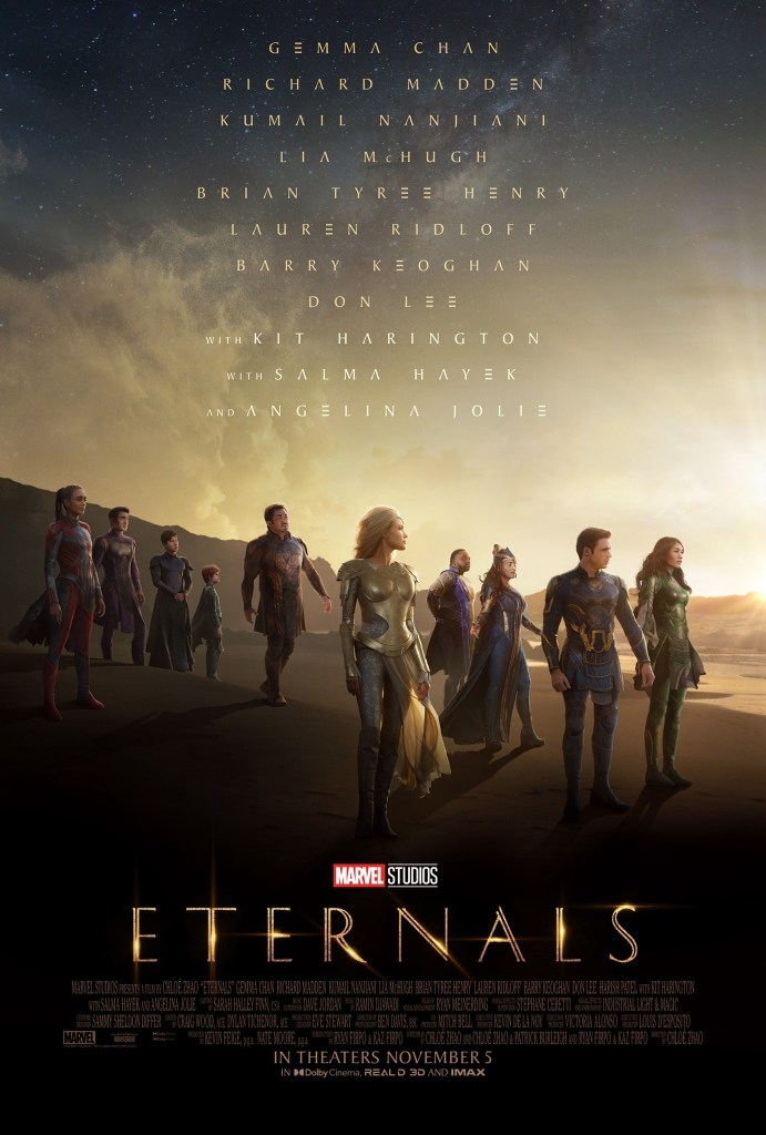 'Eternals'; The New Trailer & Poster For The Marvel Film Are Here To Save Us 2
