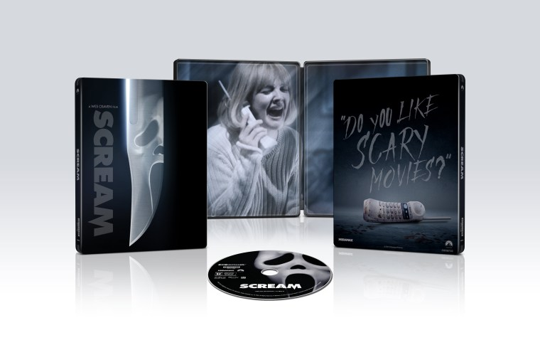 'Scream'; Arrives Newly Remastered On 4K Ultra HD & Blu-ray October 19, 2021 From Paramount 4