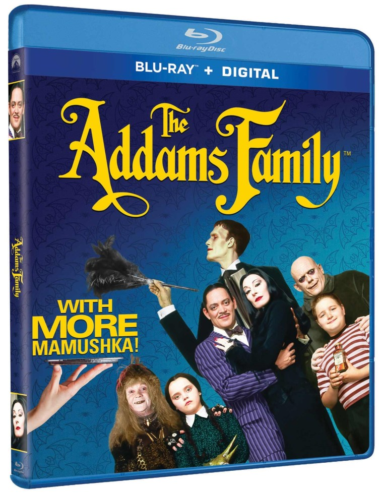 'The Addams Family'; Barry Sonnenfeld's Live-Action Film Arrives On 4K Ultra HD & Remastered Blu-ray November 9, 2021 From Paramount 2