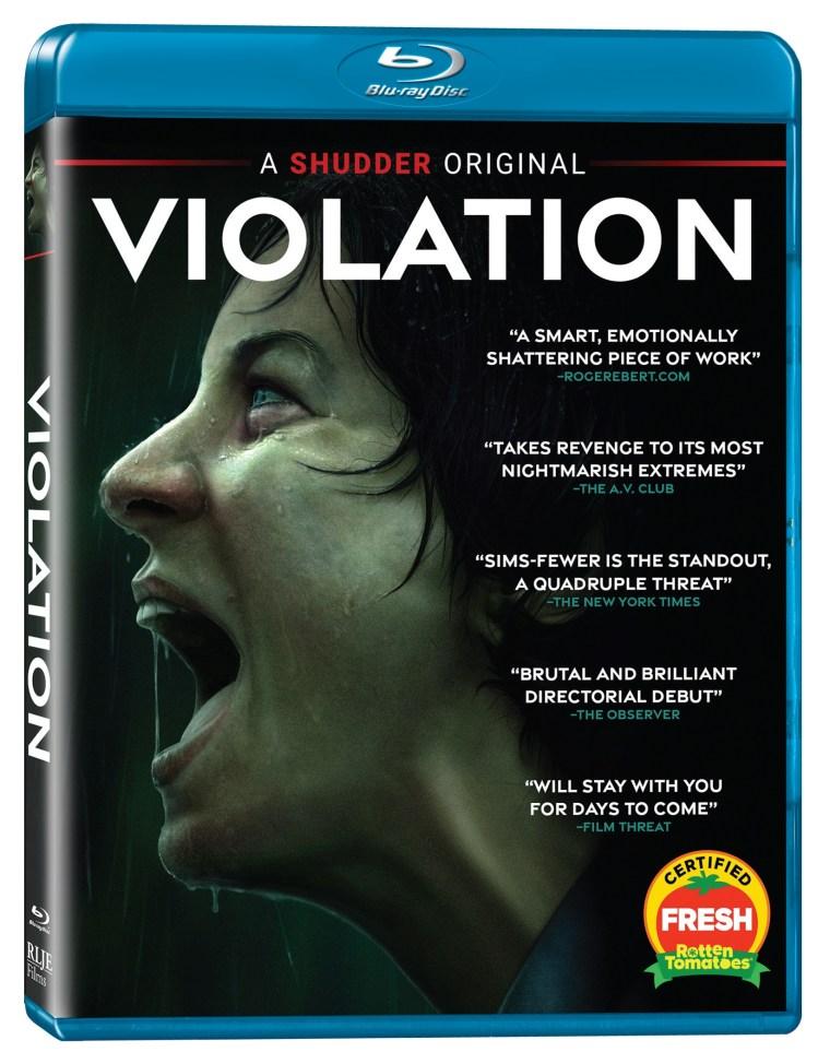violation blu ray