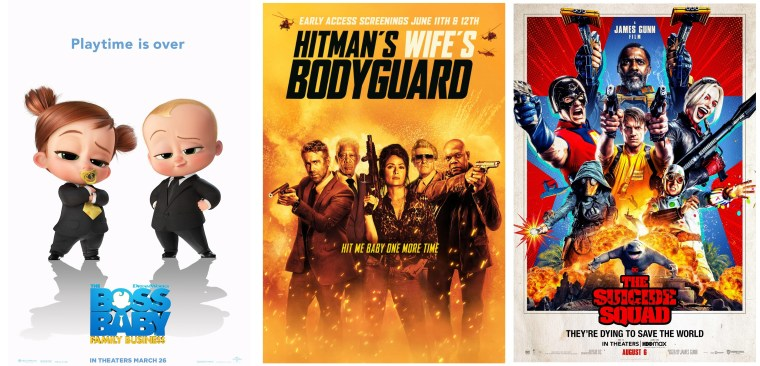 DEG Watched At Home Top 20 List For 09/23/21: The Boss Baby: Family Business, The Suicide Squad 5