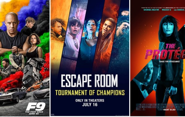 DEG Watched At Home Top 20 List For 09/30/21: F9: The Fast Saga, Escape Room: Tournament Of Champions 1