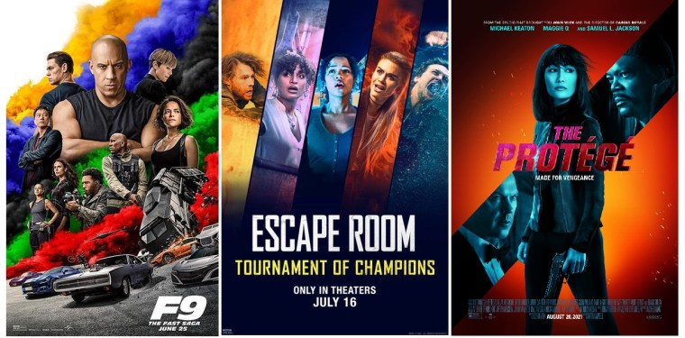 DEG Watched At Home Top 20 List For 09/30/21: F9: The Fast Saga, Escape Room: Tournament Of Champions 5