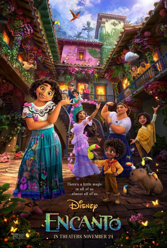 Disney's 'Encanto'; The New Trailer & Poster For The Animated Film Invite You To Find Your Magic 2
