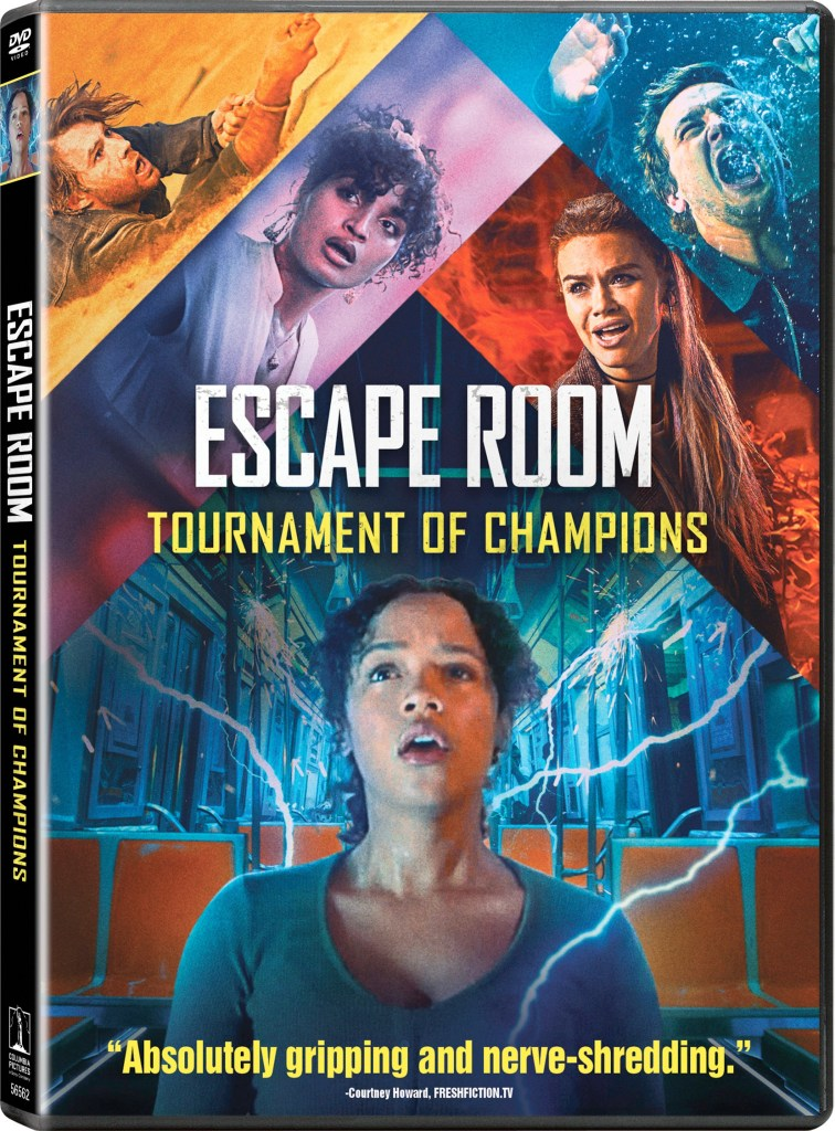 'Escape Room: Tournament Of Champions'; Arrives On Digital September 21 & On Blu-ray & DVD October 5, 2021 From Sony 4