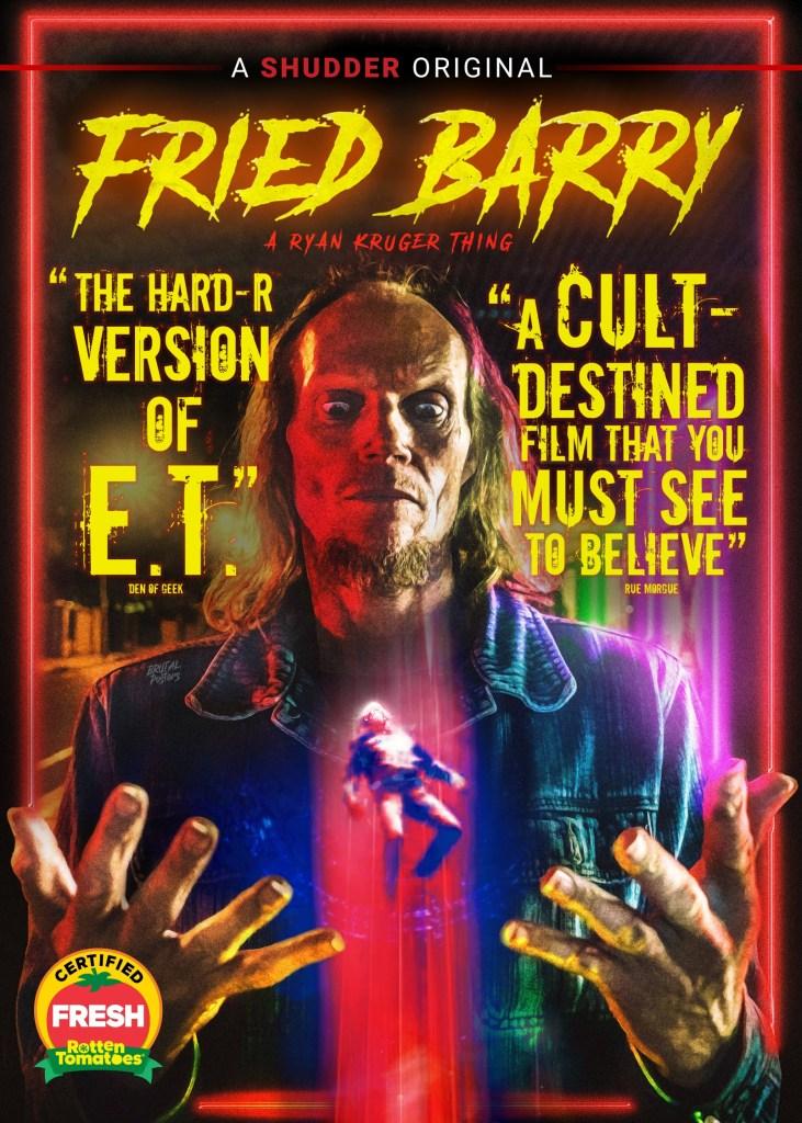 'Fried Barry'; Arrives On Blu-ray & DVD October 5, 2021 From Shudder - RLJE 2
