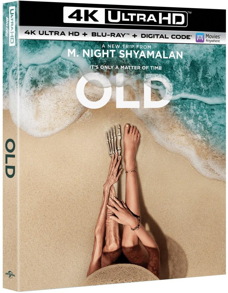 old, 4k, blu ray, dvd, digital