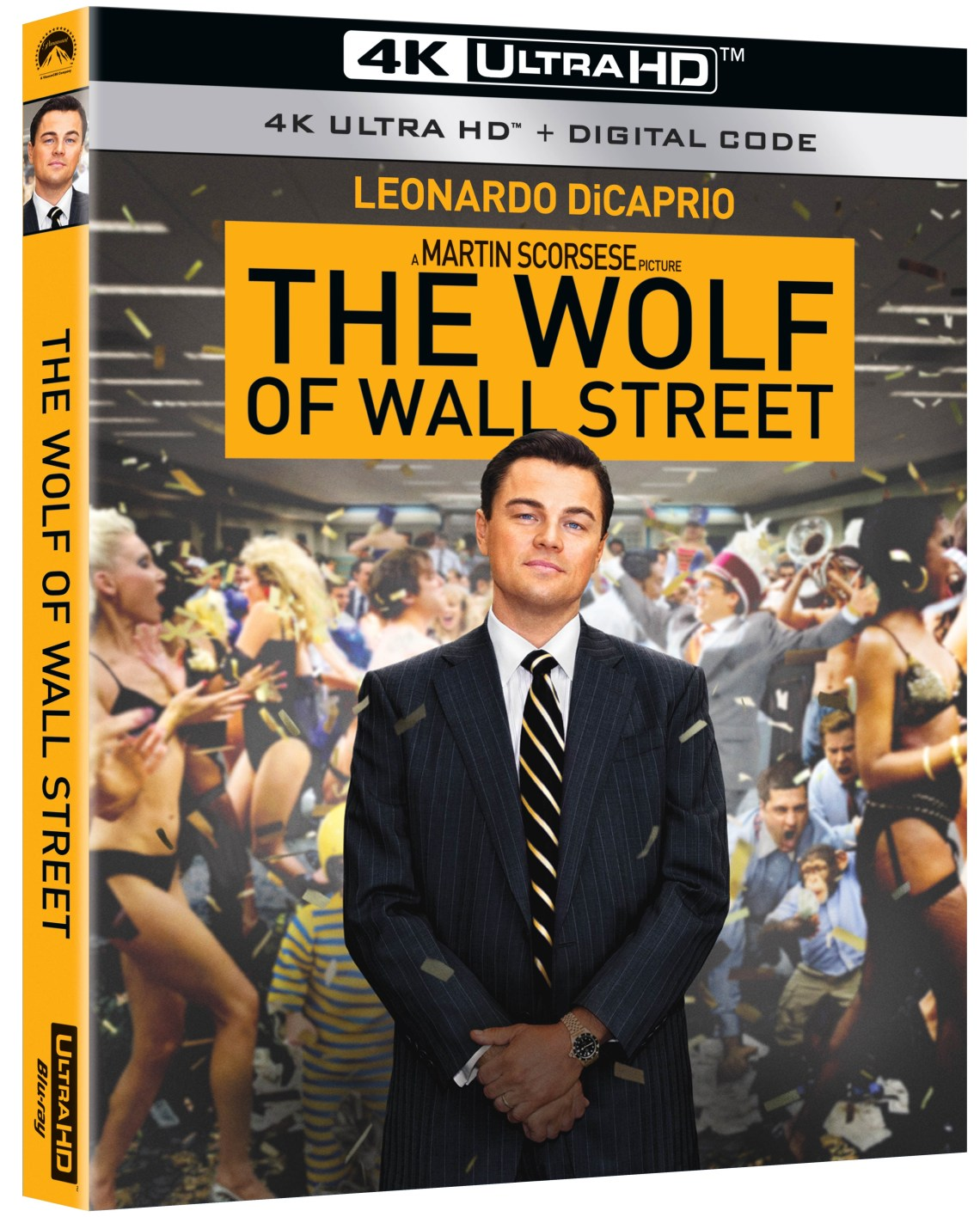 wolf of wall street, 4k ultra hd